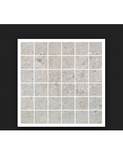 CTD Gemini Tiles King Tiles Hillock Cream Mosaic 300x300mm Wall and Floor Tiles at Tiledealer
