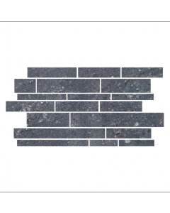 CTD Gemini Tiles King Tiles Hillock Dark Grey Mosaic 513x300mm Wall and Floor Tiles at Tiledealer