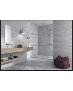 CTD Gemini Tiles Keraben Nature Concept Grey Wall Tiles 690x240 at Tiledealer