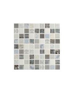 Provence Cielo Mosaic Tile - 300x300mm