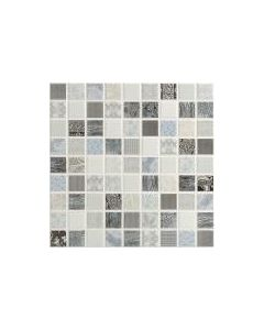 Riad Mist Mosaic Tile - 300x300mm