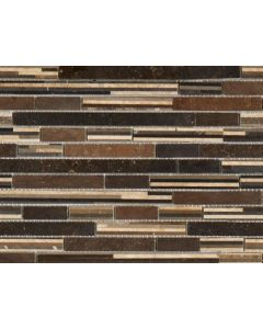 Marshalls Tile and Stone Moca Truffle Mosaic - 305x305mm