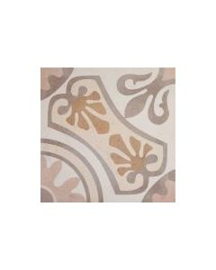 Moresque Encaustic Effect Sofia Beige 33 Tile - 333x333mm