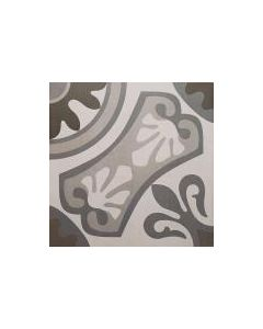 Moresque Encaustic Effect Sofia Gris 33 Tile - 333x333mm