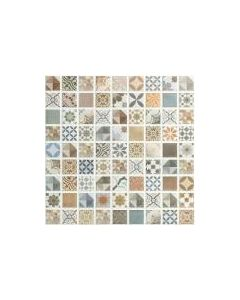 Provence Multicolour Mosaic Tile - 300x300mm