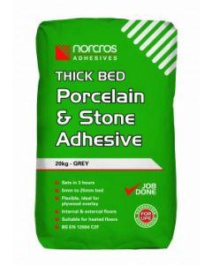 Norcros Adhesives Rapid Porcelain & Stone Adhesive White