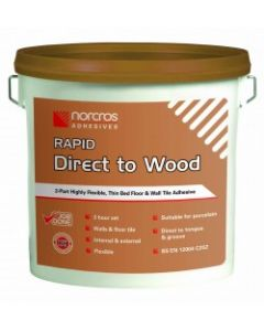 Norcros Adhesives Tile Direct to Wood-Rapid Kit Grey