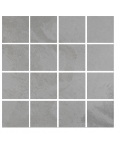 Pamesa Ceramica K Concept Malla K Slate Silver Porcelain Wall and Floor Stone Effect Tiles 30x30
