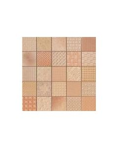 Patchwork Mosaic Effect Tiles Cardiff Caramelo Tile - 333x333mm