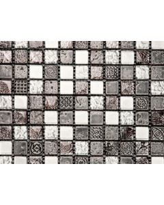 Marshalls Tile and Stone Portoro Mosaic - 300x300mm