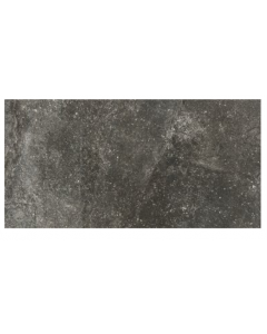 RAK Ceramics Fusion Stone Black Lapatto Porcelain Wall and Floor Tiles 60x15