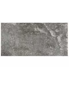RAK Ceramics Fusion Stone Dark Grey Lapatto Porcelain Wall and Floor Tiles 75x75