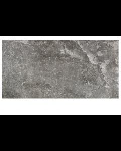 RAK Ceramics Fusion Stone Dark Grey Lapatto Porcelain Wall and Floor Tiles 60x15