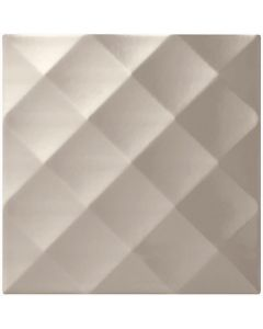Studio Conran Ridge Plum Gloss Tile - 198x198mm