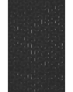 Studio Conran Hartland Black Pressed Mosaic Tile - 248x398mm