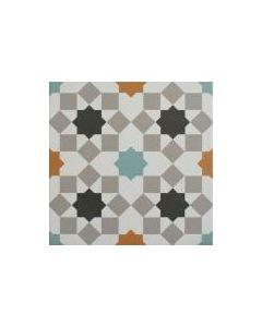 Marrakech Sierra Aqua 1 Tile - 300x300mm