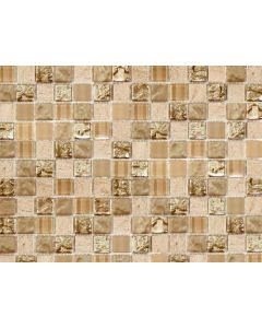 Marshalls Tile and Stone Santa Capa Square Glass Mosaic - 298x298mm