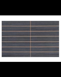 Gemini Tiles Vitra Allure Antrasit Scored Tile - 400x250mm