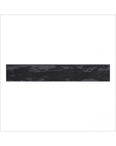 Gemini Rustic Country Anthracite Bumpy Gloss Tile - 400x65mm
