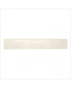 Gemini Rustic Country Ivory Bumpy Gloss Tile - 400x65mm