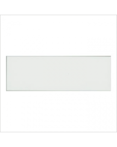 Gemini Vitra Step White Glossy Tile - 300x100mm