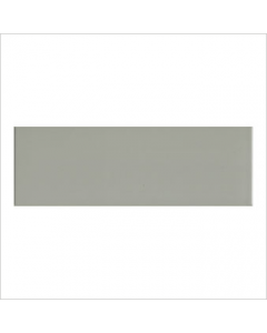 Gemini Vitra Step Grey Glossy Tile - 300x100mm