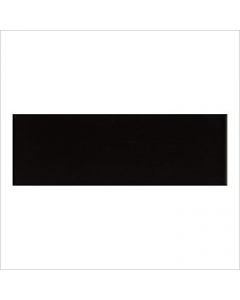 Gemini Vitra Step Black Glossy Tile - 300x100mm