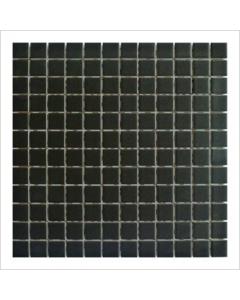 Gemini Vitra Step Black Mosaic Tile - 300x300mm