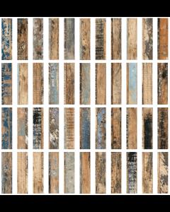 Loft Mix Natural Tiles - 280x70mm