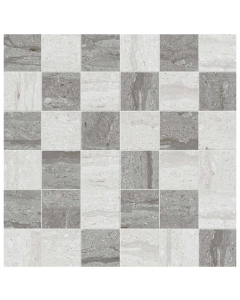 Silverstone Tiles Mosaico Mix Gris/Grafito Tiles - 300x300mm