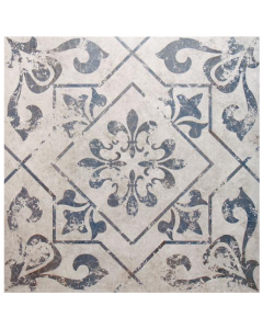 Harran Lotto Blue Floor Tile - 450x450mm
