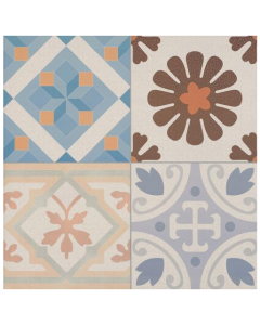 Patchwork Decor Tile - 442x442mm