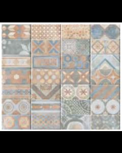Marshalls Tile and Stone New Orleans Royal Street Decor Tile - 100x200mm