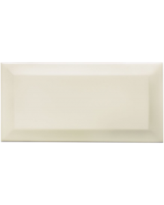 Underground Cream Ceramic Wall Tile - 200x100mm