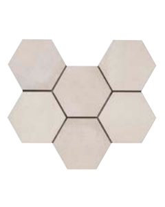 Continental Tiles Rewind Vanilla Rettificato Tiles - 210x180mm