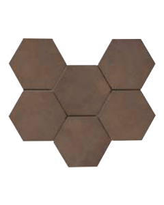 Continental Tiles Rewind Tabacco Rettificato Tiles - 210x180mm