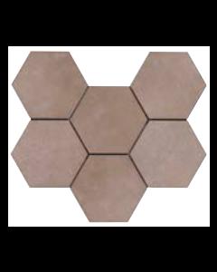 Continental Tiles Rewind Argilla Rettificato Tiles - 210x180mm