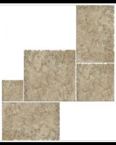 Indian Stone Desert Sand Layout 6 Tiles