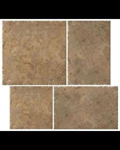 Indian Stone Autumn Rust Layout 1 Tiles