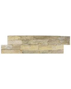 Ledgestone Splitface Tiles Thin Indian Green - 400x100mm