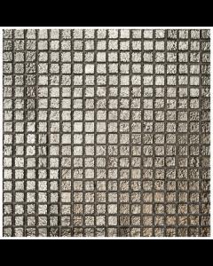 Romantic Chromatic Silver Mosaic Tiles - 305x305mm