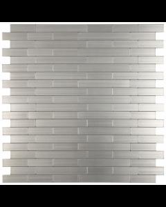 Smart Mosaic Tiles Thin Steel 12x12 Mosaic Self Adhesive Tiles