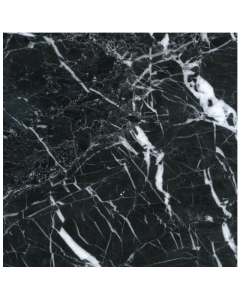 Aston Marble Black Veined Tile 305x305mm