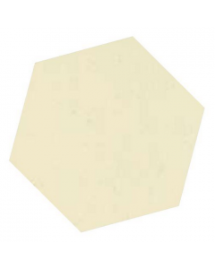 Victorian Unglazed Hexagon Tiles White 10x10cm