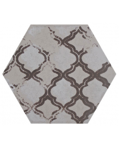 Hexa Style Decoro Corda Tiles 126x110mm
