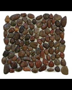 Stone River Roja Mosaic - 300x300mm