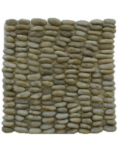 Stone River Vertical Blanca Mosaic - 300x300mm