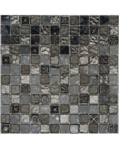 Marshalls Bluebell Mosaic at Tiledealer
