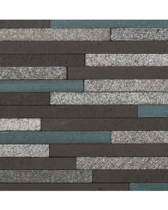 Marshalls Tile And Stone Avalon Lava Stick Mosaic - 253x240mm