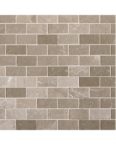 Marshalls Sebastian Grey Polished Limestone Mosaic - 96x48mm